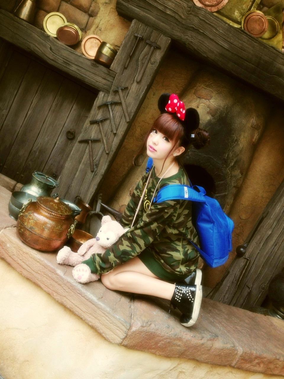 ディズニー写真1\(^o^)/』藤田ニコル 公式ブログ|オスカー